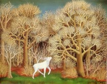 Jelen u šumi
