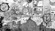 Fiction story - crtež, detalj