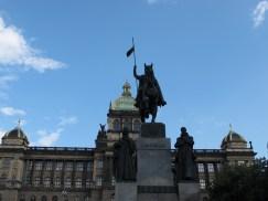 Kip Vjenceslava na konju, djelo Josefa Myslbeka, 1912. godine