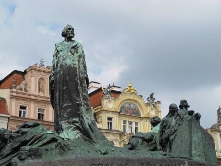 Spomenik Janu Husu, Ladislav Šaloun, 1915. godine