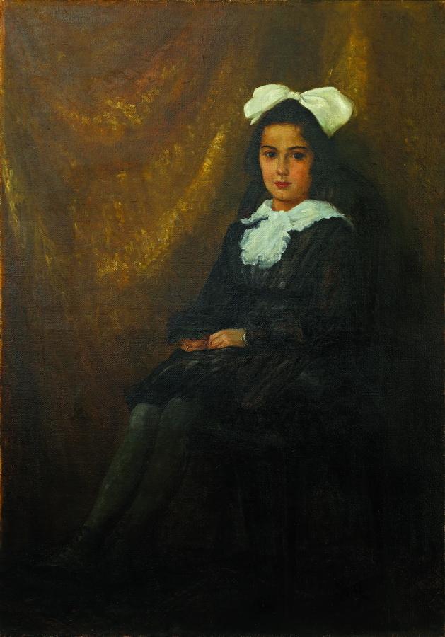 Nasta Rojc - Portret Lavice Matić-Bazala, 1918., ulje na platnu; 126x90