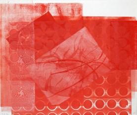 Maja Cipek - Samoborske varijacije, 2008. (iz grafičko-pjesničke mape Ljeto u Samoboru), kombinirana tehnika; 35x40cm
