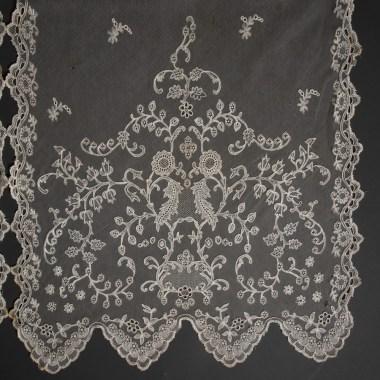 Vjenčani veo, nepoznato mjesto izrade, druga pol. 19.st., foto: Srećko Budek