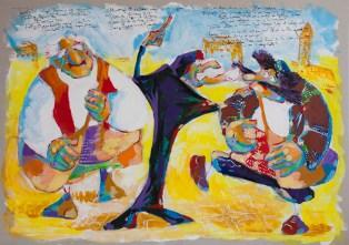 Dundo Maroje - Maroje i Bokčilo sreću Tripčetu