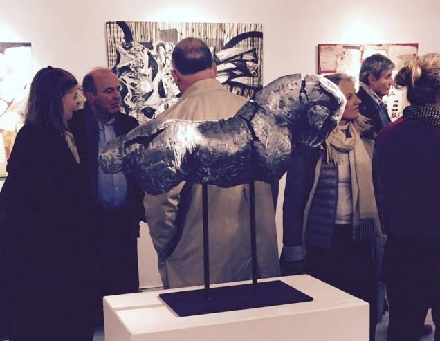 Skulptura Power of Soul na Salon d'Automne u Parizu