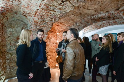 S otvorenja izložbe Fragmentologija u Galeriji osmijeha, foto: Juraj Vuglač