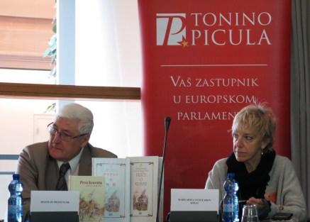 S lijeva na desno: Božidar Prosenjak, Margarita Sveštarov Šimat
