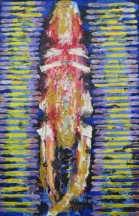 Mudrac, ulje na platnu, 195 x 130 cm, 1988.