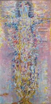 Čupka, ulje na platnu, 200 x 100cm, 1986.