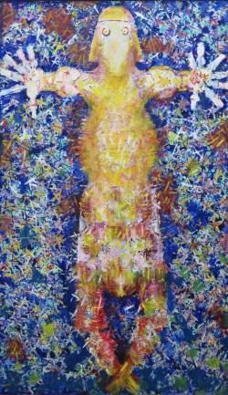 Ružica, ulje na platnu, 170 x 100cm, 2003.