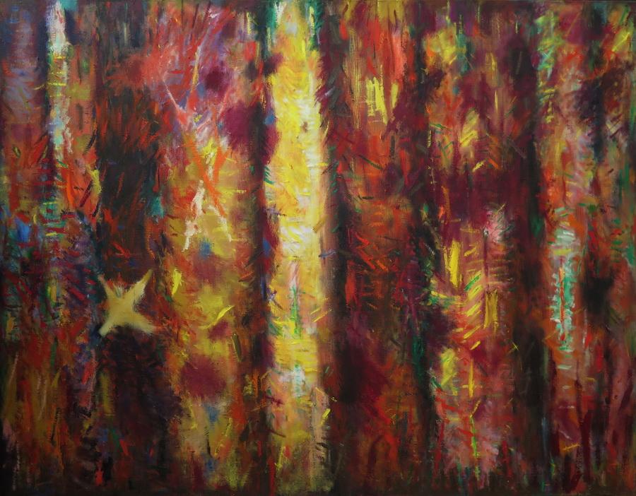 Jesen, ulje na platnu, 140 x 180cm, 2006.