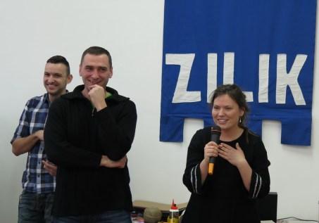 Ida Blažičko i v.d. ravnatelja Zvonimir Tonšetić
