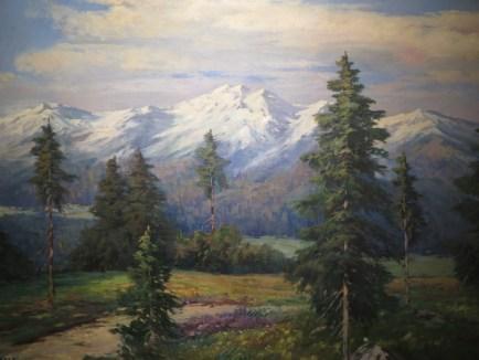 Alpski krajolik ili iz okolice Bohinja, 1930.