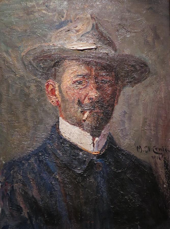 Autoportret, 1911.