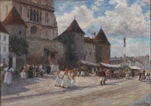 Katedrala s Bakačevom kulom, 1906. - foto: Goran Vranić