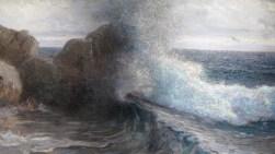 Lom valova o stijenu, 1906. (detalj)