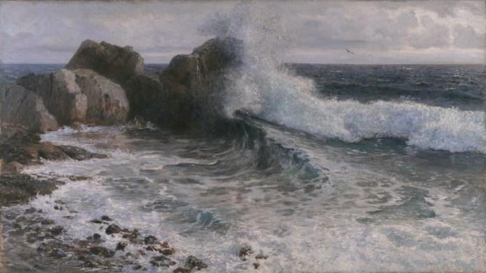 Lom valova o stijenu, 1906.