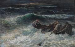 Ribari u oluji, oko 1905-8. - foto: Goran Vranić