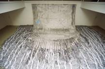 Transmission / Prijenos značajnog signala, 2005., Galerija Galženica, crtež olovkom na papiru i kolaž