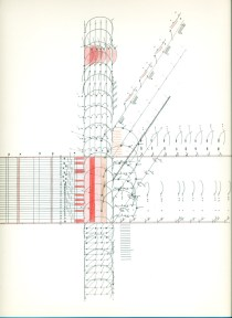 Iz serije crteža U prostoru, 1999., olovka i drvene boje na papiru
