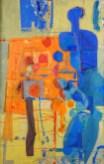 Prodavačica u plavom, 1959.