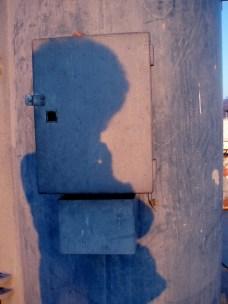 Plava sjena u rumenilu kraja dana, Split, Lučica Zenta, 9.2.2009., 17:04h