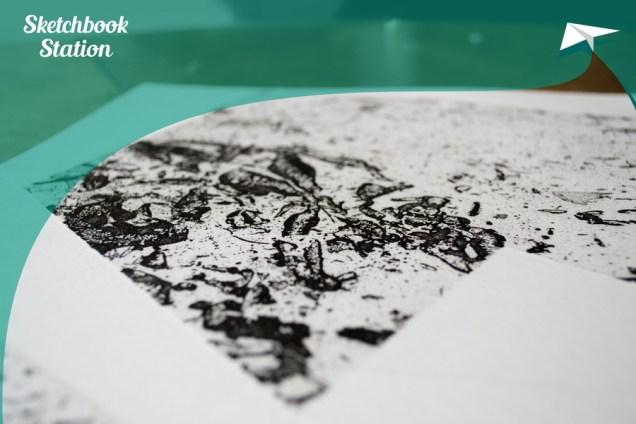 Sneak peek rada za Sketchbook Station projekt, autor fotografije: Antanas Štrimaitis