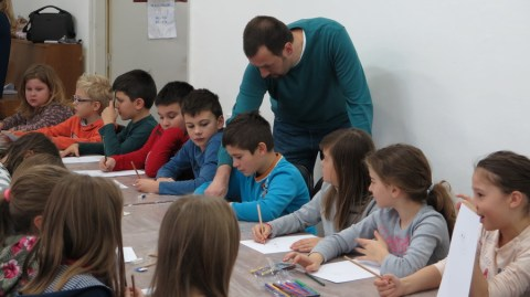 Nik Titanik - Mala škola geg i portretne karikature