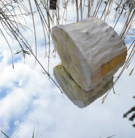 April (12 mjeseci), objekt-skulptura, 23cmx25cmx17cm, 2011.