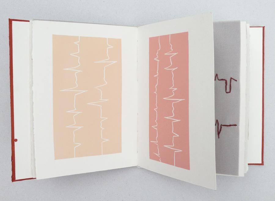 Herat Mirror VI, umjetnička knjiga, 18x20x2.5cm, 2015.