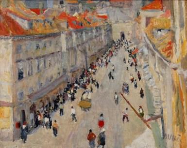 Ivo Dulčić - Stradun, oko 1950., Umjetnička galerija Dubrovnik