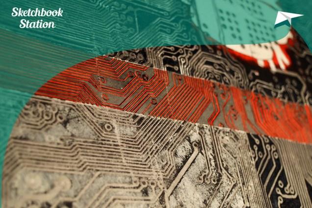 Rad Marije Lovrić za Sketchbook Station projekt, autor fotografije: Antanas Štrimaitis
