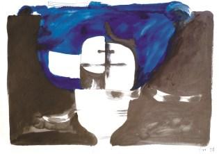 Lubanja 9 (173), 1978., tempera, tinta/papir; 59,5x84,5cm