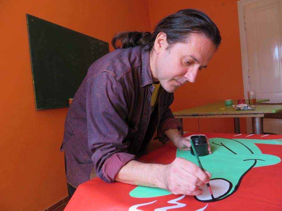 Danijel Babić - u radu