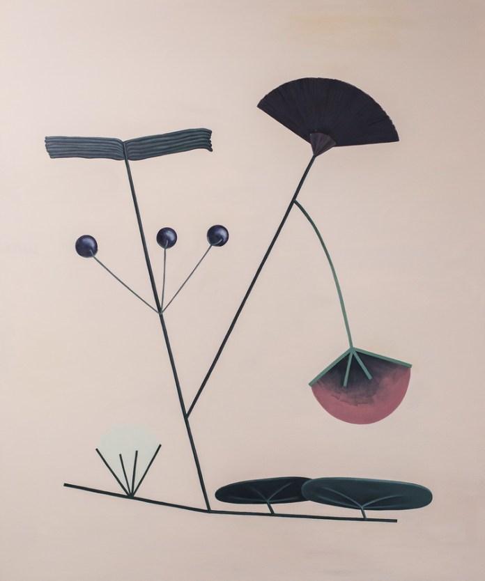 Pablo Diaz - Untitled; ulje na platnu, 80x60 cm, 2016