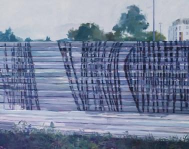 Paulina Matysiuk - Untitled II; ulje na platnu, 150x100, 2016