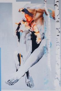 Sylwia Zdzichowska - Brzezia I; ulje na platnu, 120x80, 2016
