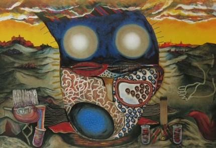 Famatoqie I, litografija, 1992.