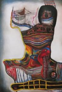 Fanatique II, litografija, 1992.
