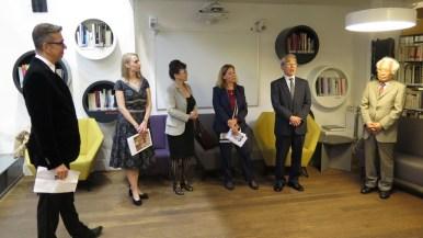 Otvorenje izložbe u nazočnosti veleposlanice Francuske u Hrvatskoj gđe. Corinne Menier i veleposlanika Japana u Hrvatskoj g. Keiji Takiguchija