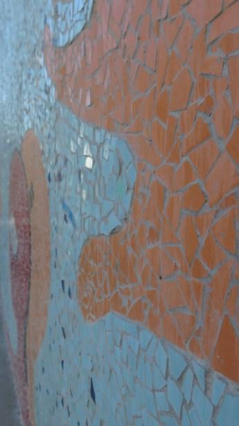 "Detalj mozaika ""Žena Antena i podrška"""