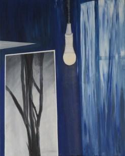 Svjetlo u tami - akril na platnu, , 80x100cm, 2017.