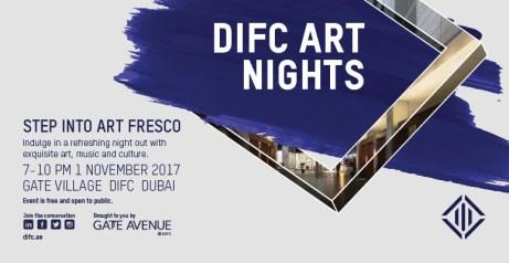 "DIFC ""Art Nights – Step Into Art Fresco"""
