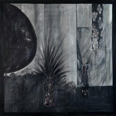 Sjeta - akril na platnu, 100x100cm, 2016.