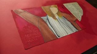 Knjiga umjetnice - detalj