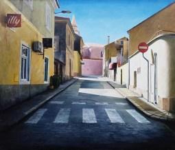 Eugen Varzić - Going to town, ulje na platnu, 120x140cm, 2016.