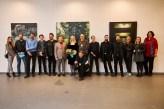 grupna fotografija autora koji izlažu