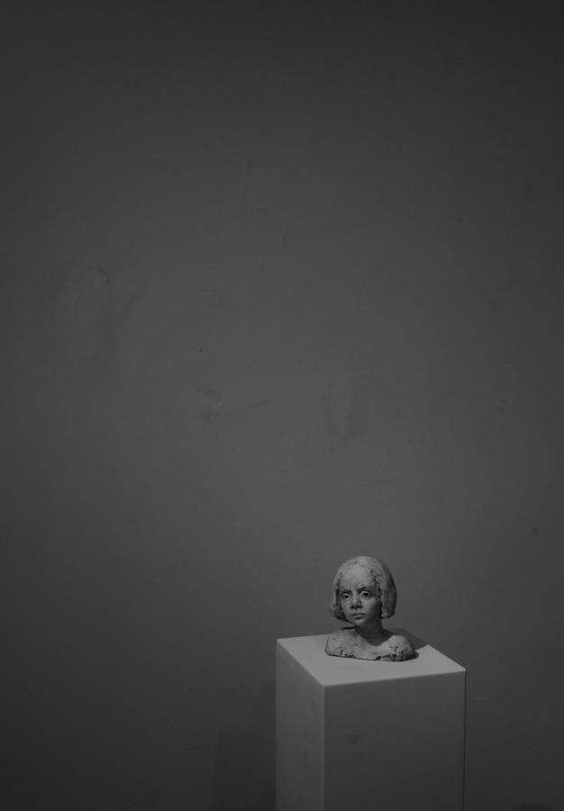 Detalj s izložbe skulptura, slika i crteža - Galerija Slavko Kopač, Vinkovci