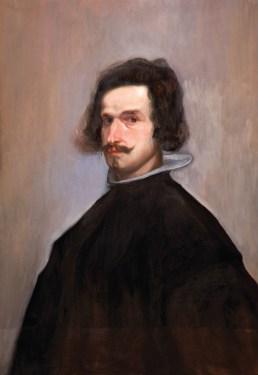 Prema autoportretu Diega Velazqueza - ulje na platnu, 50 x 70 cm, 2015.