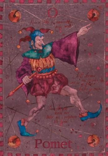 Siniša Reberski - Pomet Trpeza, akvarel na papiru, 50x70cm, 2019., foto: Josip Strmečki